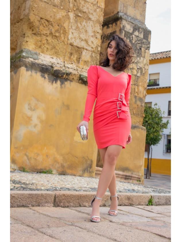 Vestido Leyre Coral