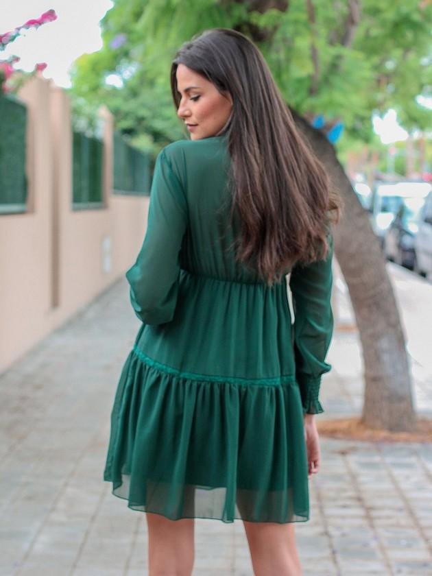 Vestido Shamal Verde
