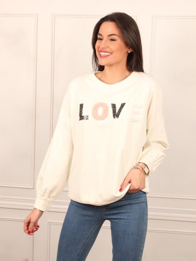 Sudadera Love + 2 colores