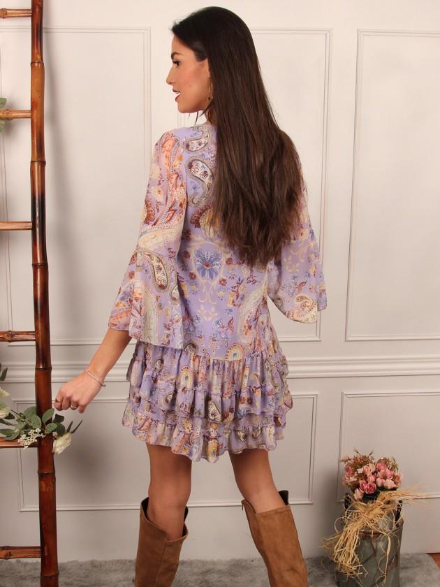 Vestido Paisley + 3 colores