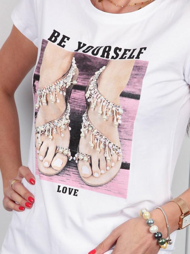 Camiseta Sandalia