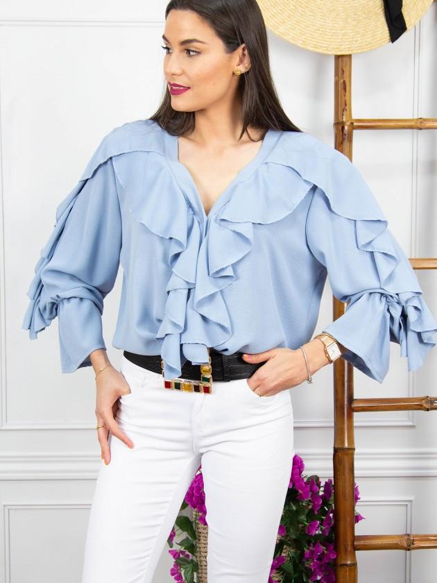 Blusa Enif + 3 colores