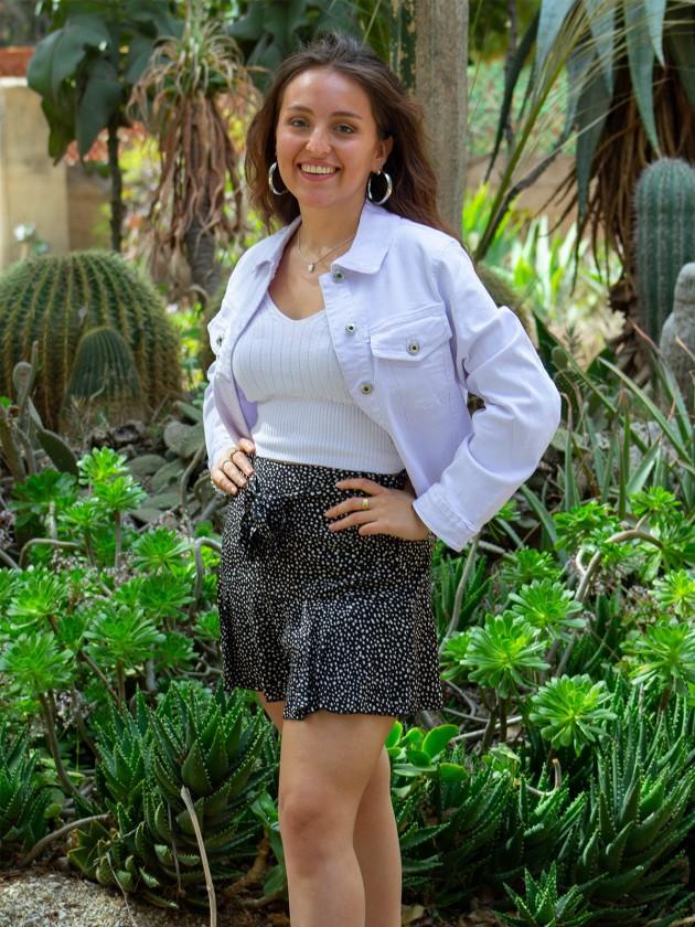 Falda Pantalón Volante