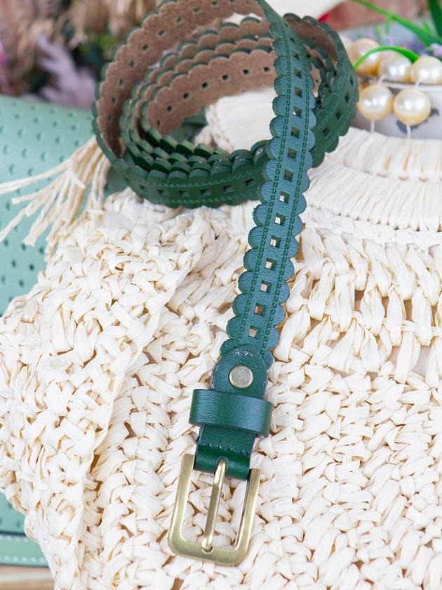 Cinturón Kauri Verde