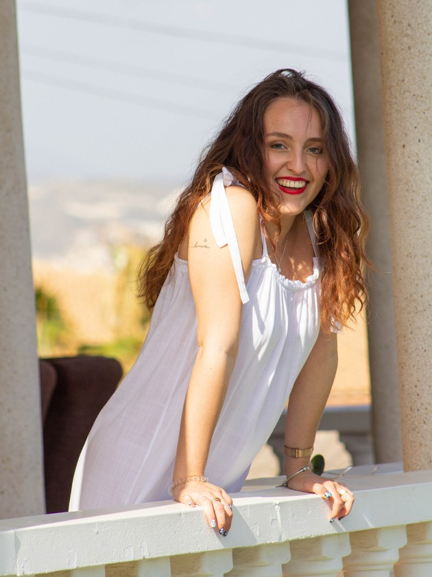 Vestido Alhena Blanco