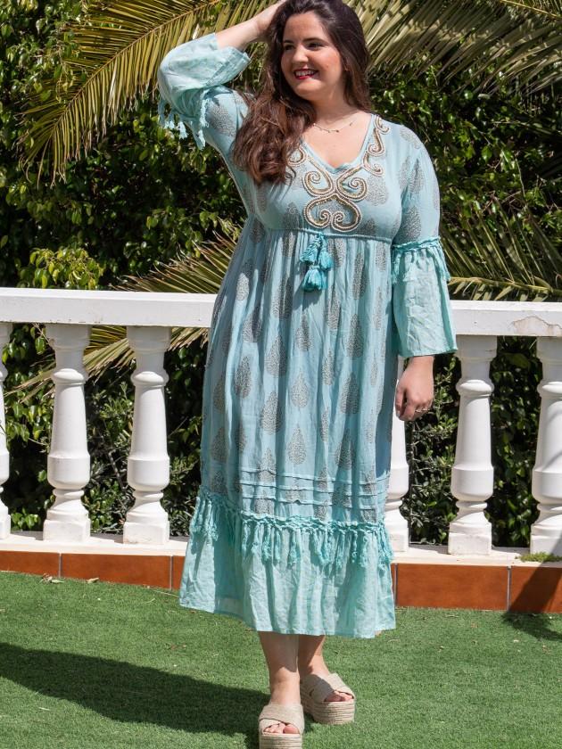 Vestido Cori Azul