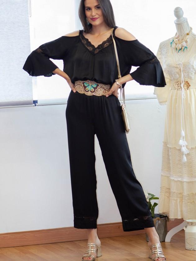Pantalón Bruna Negro