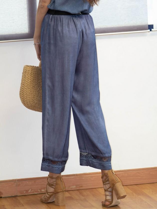 Pantalón Bruna Azul