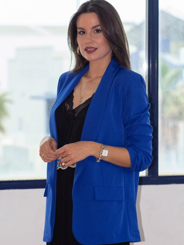 Blazer Roma Azul Klein