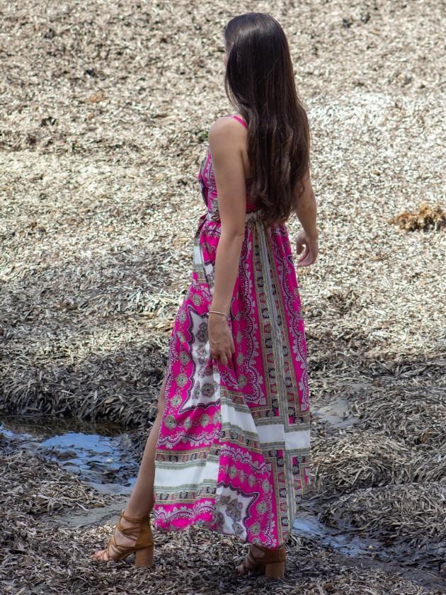 Vestido Anissa Fucsia