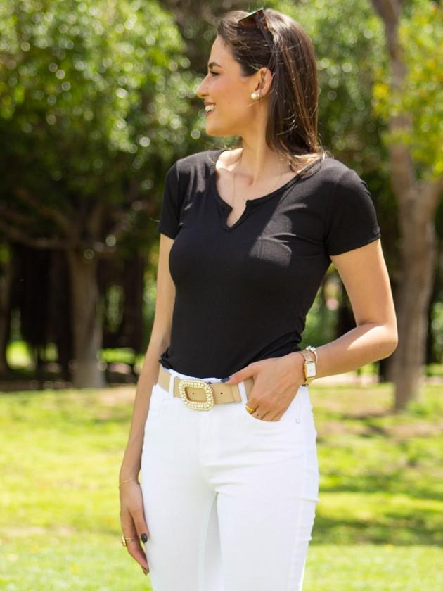 Camiseta Sira Negro