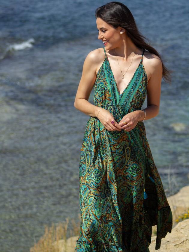 Vestido Marcela Verde