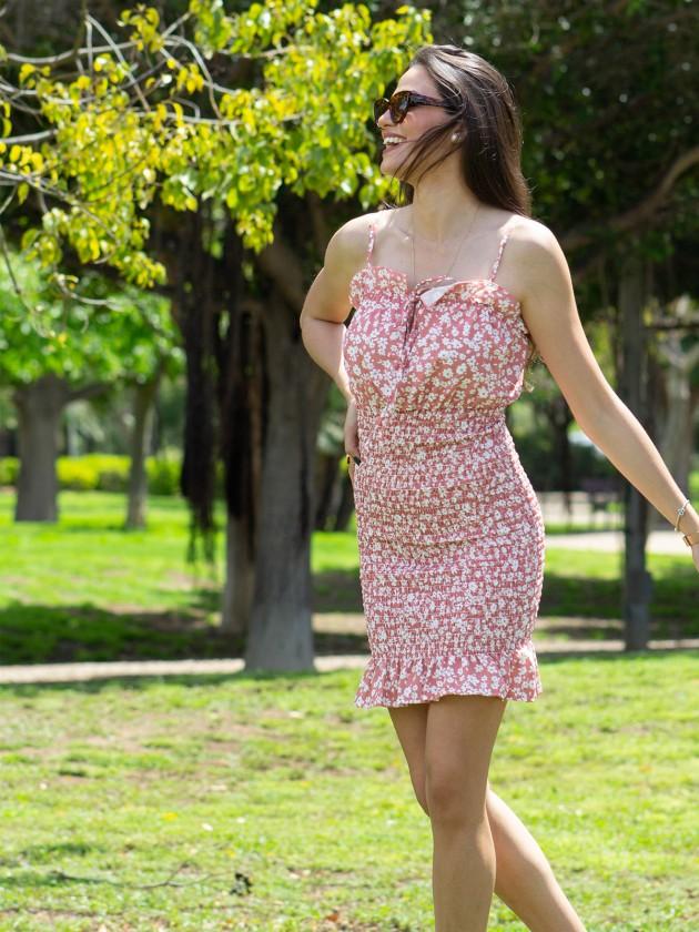 Vestido Alegra Rosa