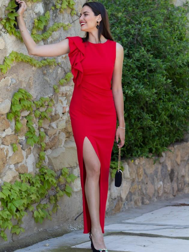 Vestido Shasa Rojo