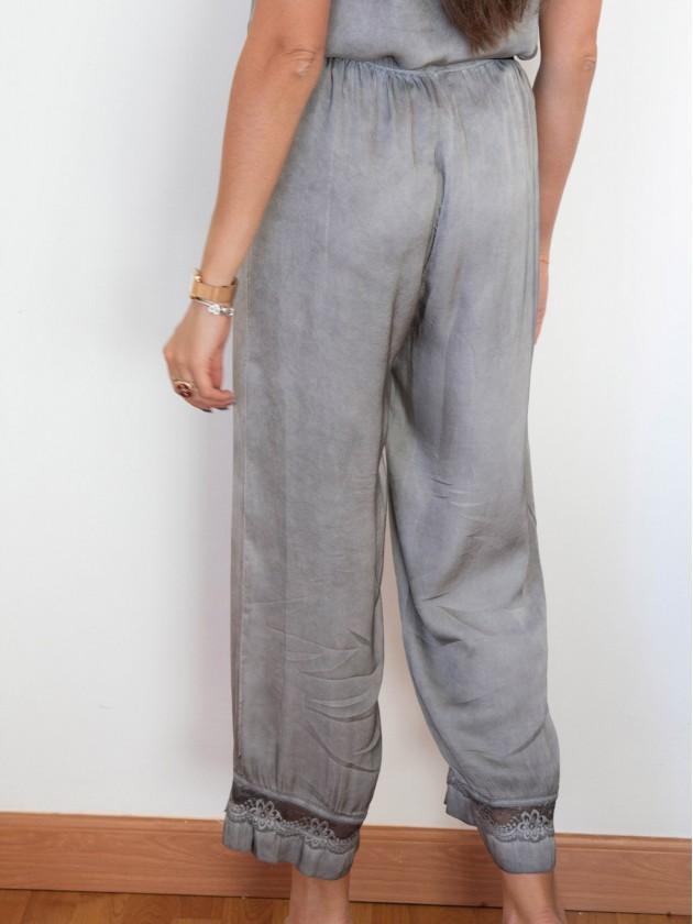 Pantalón Bruna Gris