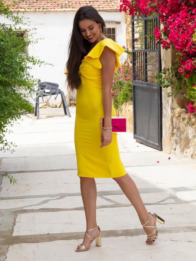 Vestido Pía Amarillo