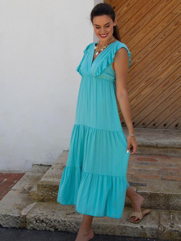 Vestido Índica Verde