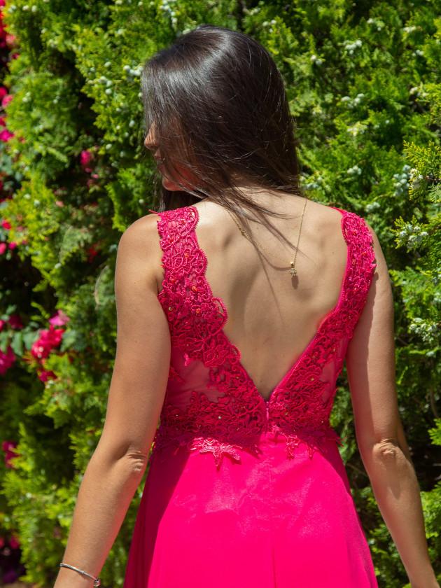 Vestido Sharon Fucsia