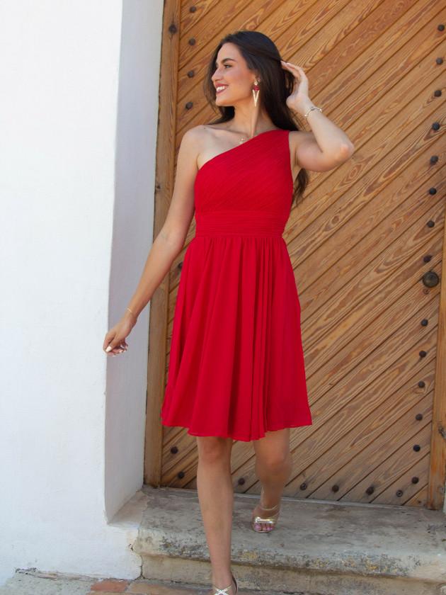 Vestido Grecia Rojo
