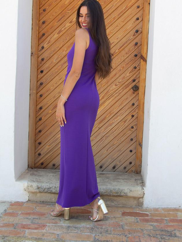 Vestido Shasa Morado