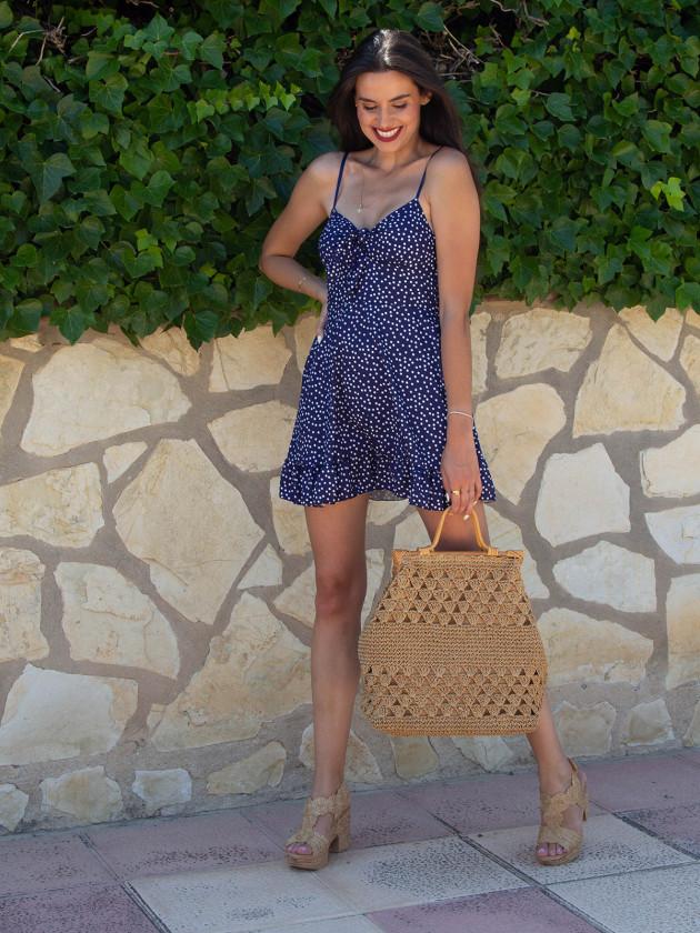 Vestido Renata Azul