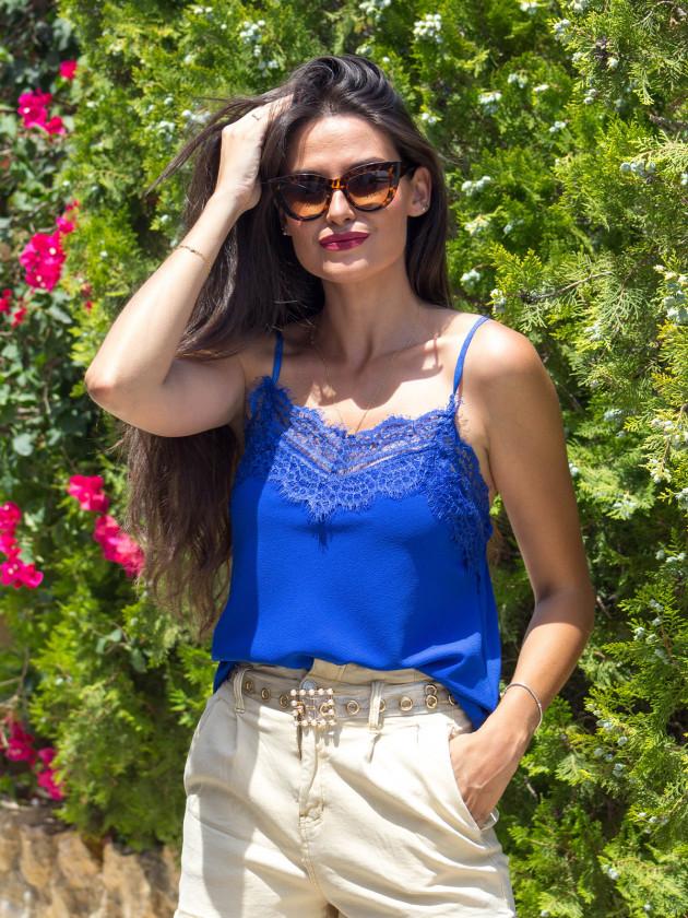 Lencera Graciela Azul Klein