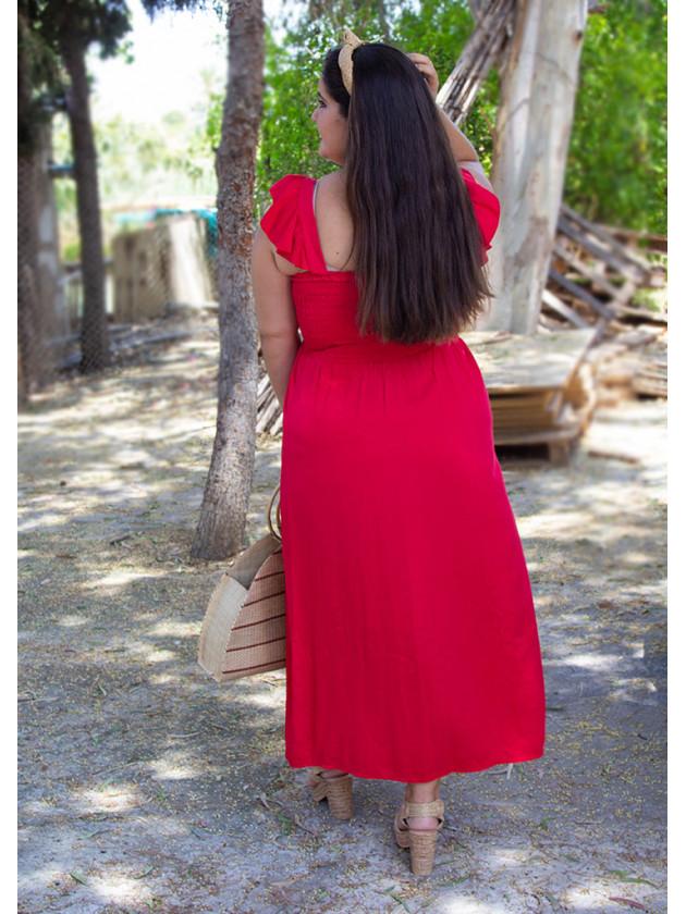 Vestido Tiaré Rojo