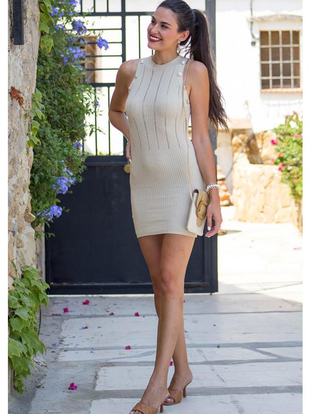 Vestido Gala Beig