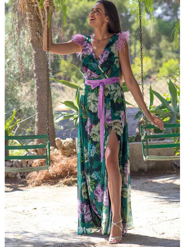 Vestido Sibila Verde