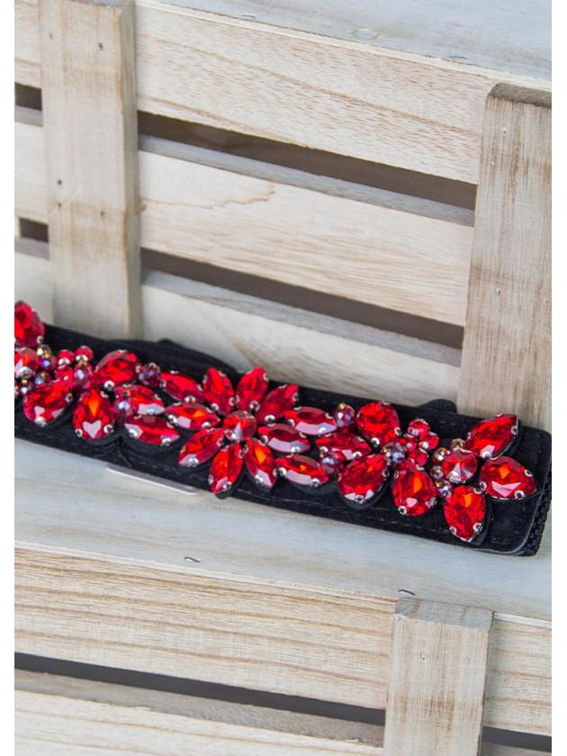 Cinturón Lagrimas Rojo