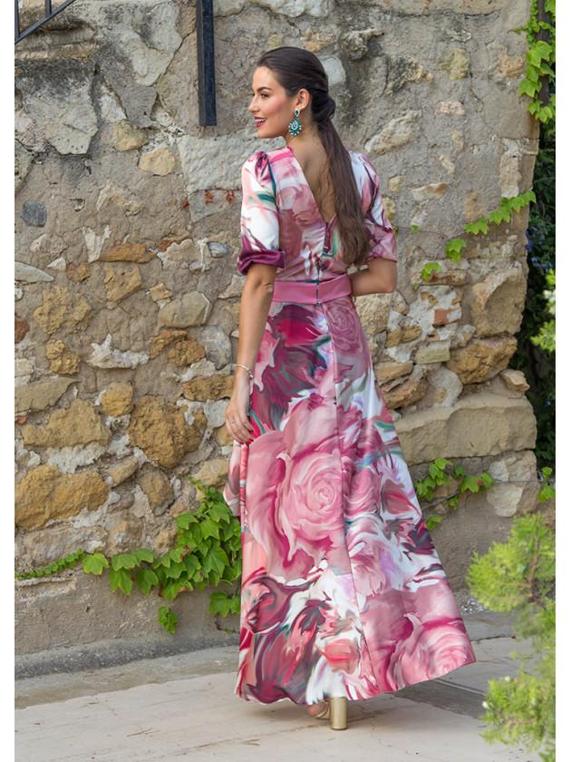 Vestido Isabela Rosado