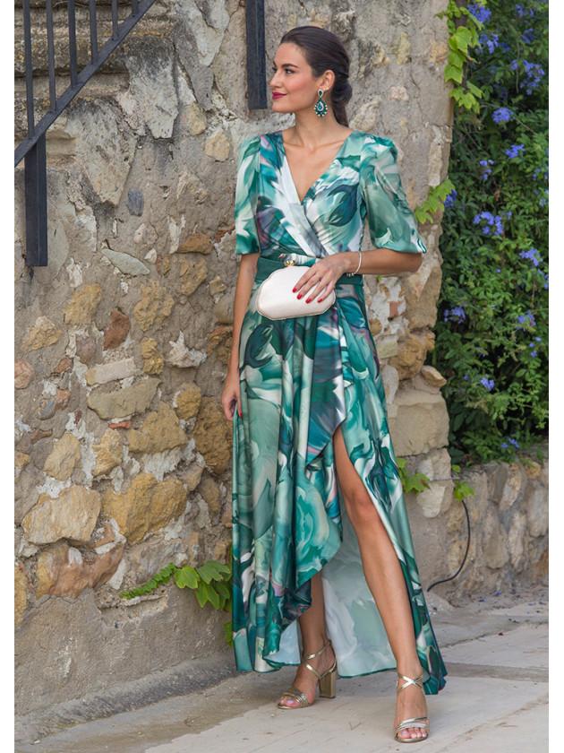 Vestido Isabela Verde