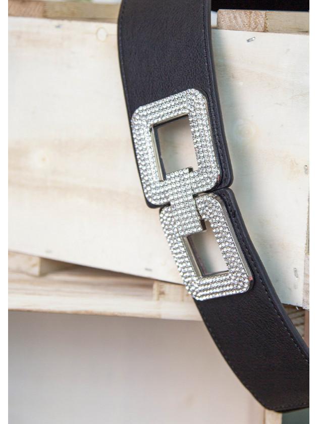 Cinturón Cuadrado Plata