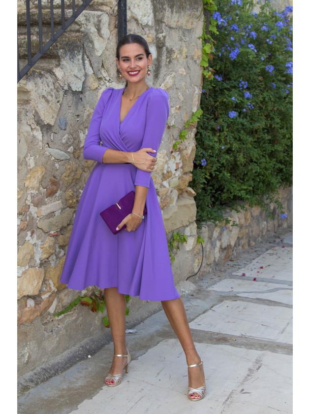 Vestido Miranda Lila