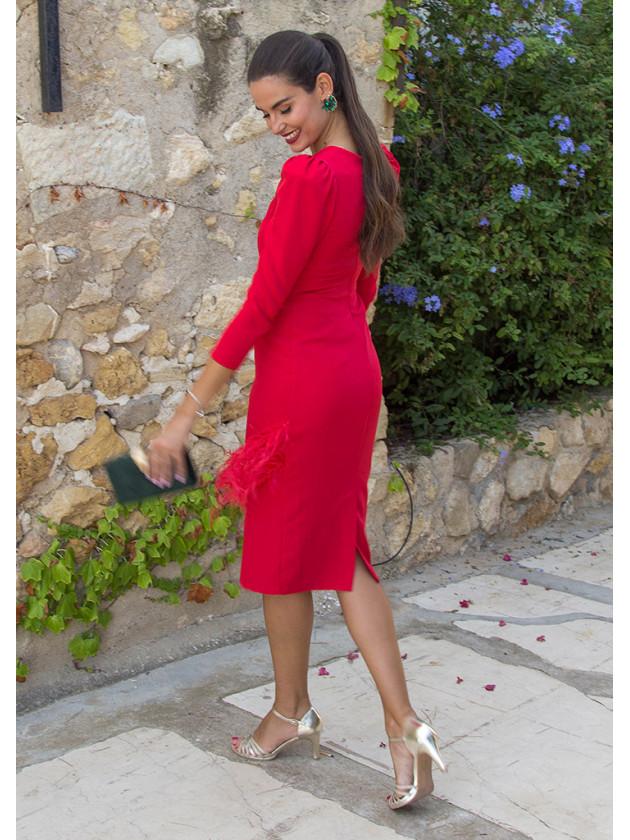 Vestido Florencia Rojo