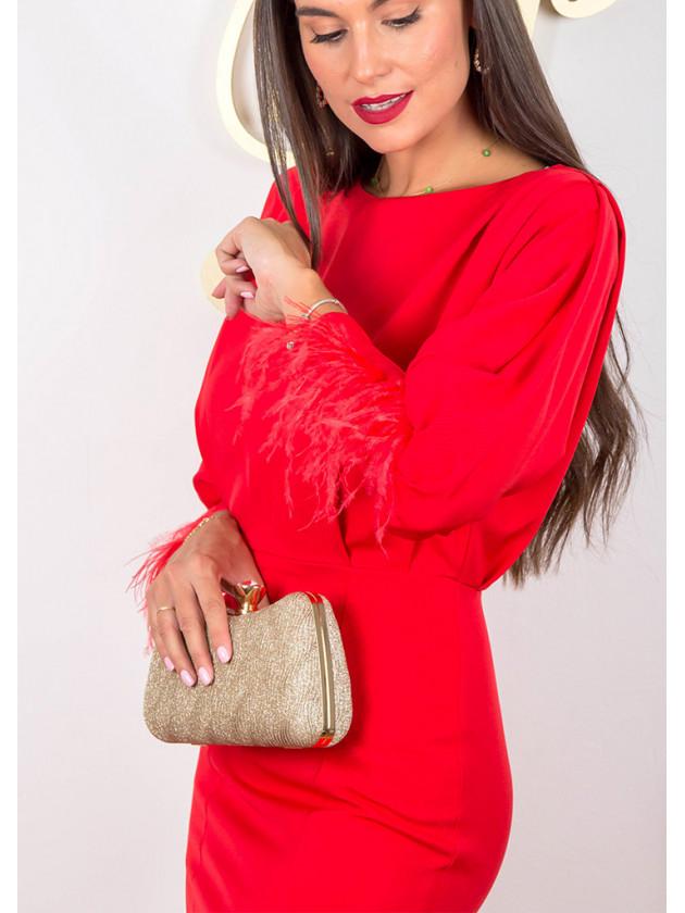 Vestido Córdoba Rojo