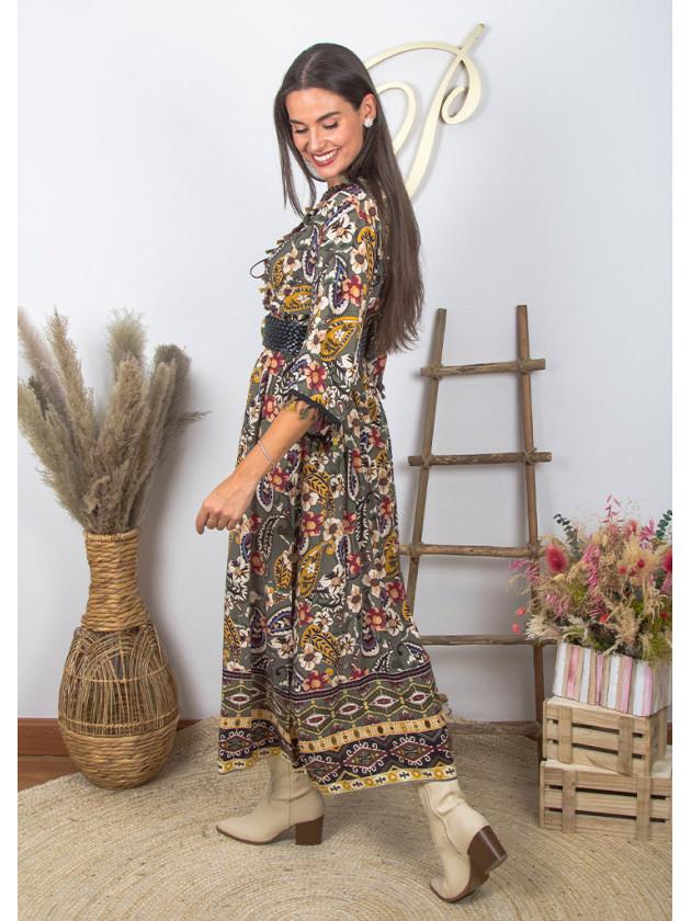 Vestido Violeana