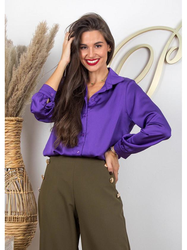 Blusa Satinada 3 Colores
