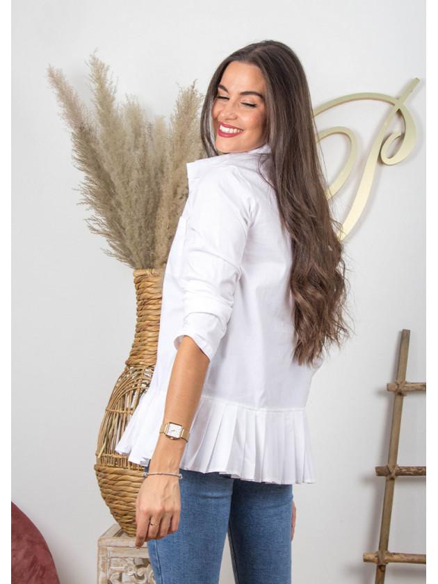 Camisa Tableada Blanca