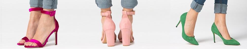 Zapatos de tacón de mujer que marcan tendencia. Salones y Sandalias.