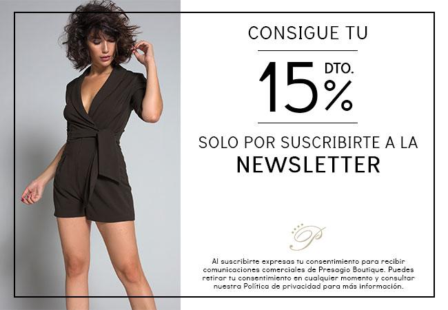 Suscripción al boletín de noticias de Presagio Boutique